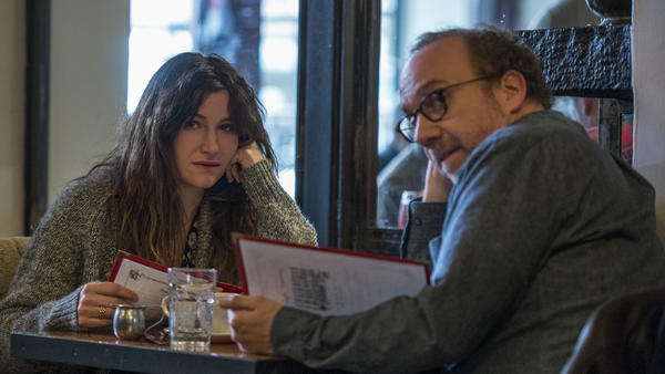 Rachel (Kathryn Hahn) and Richard (Paul Giamatti) will have what she's having, in writer/director Tamara Jenkins'<em> Private Life</em>.