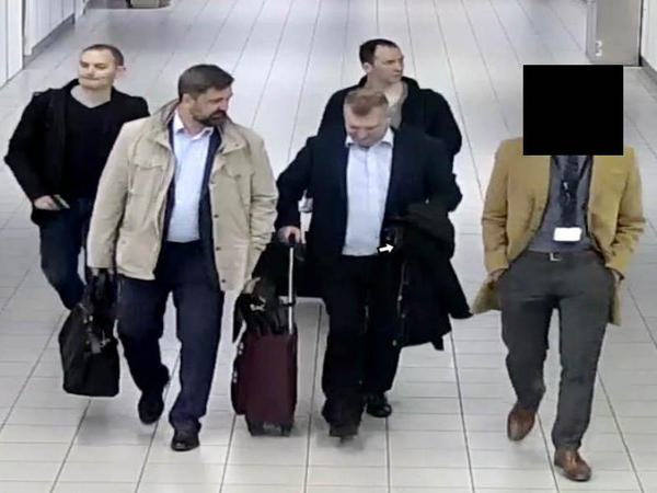 Four Russian intelligence officers who had entered the Netherlands under diplomatic passports were escorted out of the country after they were found to be carrying out a cyberattack on the OPCW chemical weapons watchdog.
