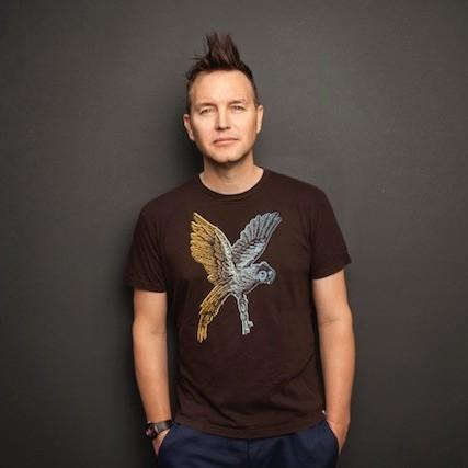 Blink 182's Mark Hoppus.