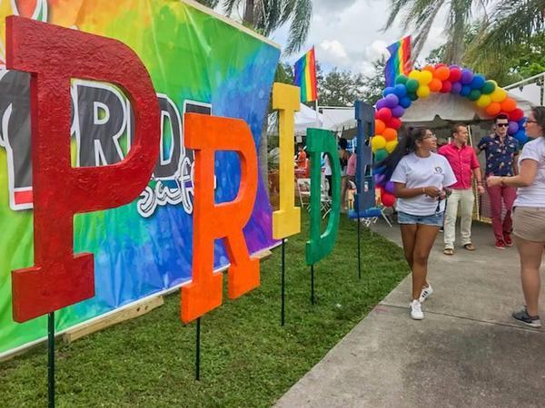 SWFL Pride event, 2017
