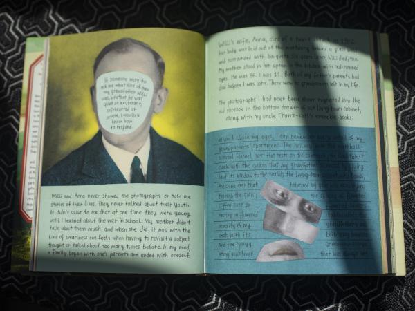 A page from<em> Belonging</em>, by Nora Krug.
