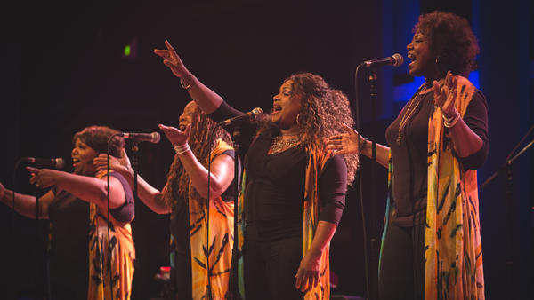 McCrary Sisters perform live at WXPN's Gospel Roots Of Rock And Soul Concert in Philadelphia.