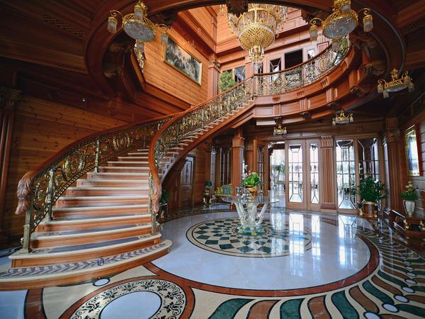 Inside Viktor Yanukovych's palace.