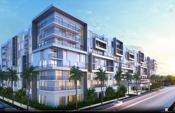 This rendering of what the apartment at the Dania Pointe development could look like, is called Avery Dania Pointe.