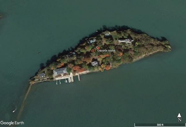 Gibraltar Island is located just off of Put-in-Bay