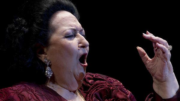 Soprano Montserrat Caballé, in concert in Marbella, Spain, in 2012.