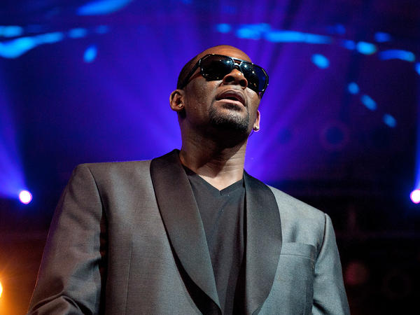 Singer R. Kelly, performing in 2013.