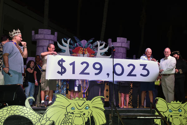 Hurricane Irma interrupted the fundraising for King and Queen of Fantasy Fest last year. But the group still raised $129,000, which went to people who needed help after the hurricane, not just AH clients.