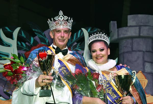Paul Murphy and Destiny Montgomery are the reigning King and Queen of Fantasy Fest, until October. The campaigns begin Aug. 24.