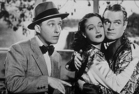 Bing Crosby, Bob Hope, and Dorothy Lamour in Road to Bali (1952)