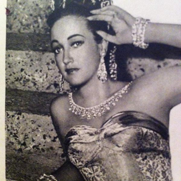 Dorothy Lamour in Road to Bali (1952)