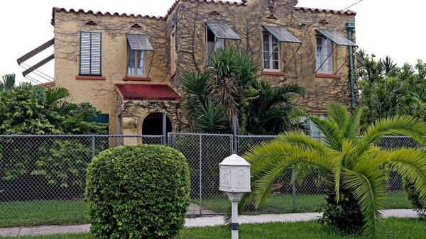 A house on Northwest 33rd Street in the Allapattah neighborhood of central Miami. Developers and investors are buying properties there because it's close to downtown and Wynwood.