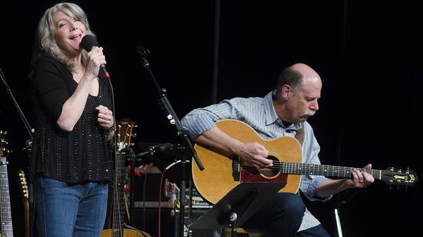 Kathy Mattea performs on <em>Mountain Stage</em>.