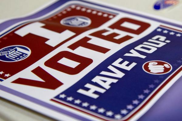 The deadline to register to vote for the November general election is Tuesday.
