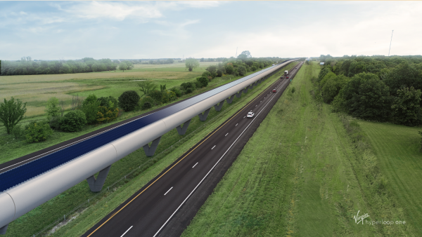 A feasibility study on the proposed hyperloop between St. Louis and Kansas City found that each ride would be cheaper than the cost of gas.