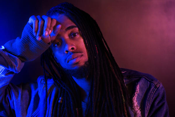Mvstermind poses for a portrait at his north St. Louis County studio.
