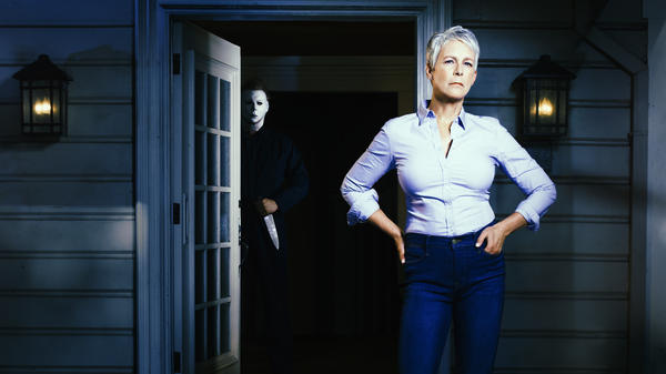 Watch out, Michael Myers, Laurie Strode [Jamie Lee Curtis] is ready for you.