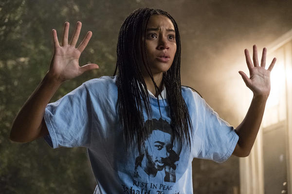"This image released by 20th Century Fox shows Amandla Stenberg in a scene from ""The Hate U Give."" (Erika Doss/20th Century Fox via AP)"