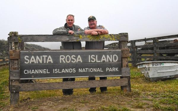 U.S. Interior Secretary Ryan Zinke at the Channel Islands in California in April, 2017.