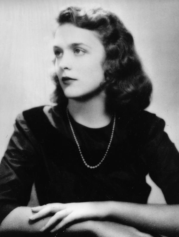 Barbara Pierce, the future Barbara Bush, is shown in her graduation photo from Ashley Hall, a finishing school in Charleston, S.C., in 1943.