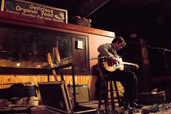 William Tyler performs in Iowa City.