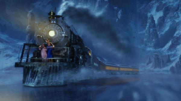 The train in the film <em>The Polar Express</em> was inspired by the 1225.