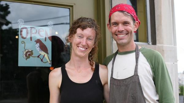 Erin and Robert Lockridge own Moriah Pie.