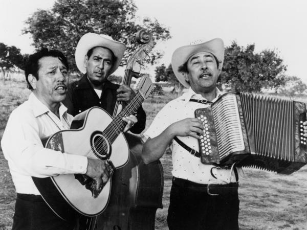Legendary norteño group Los Alegres de Terán, in a promotional still from the 1976 documentary <em>Chulas Fronteras.</em>