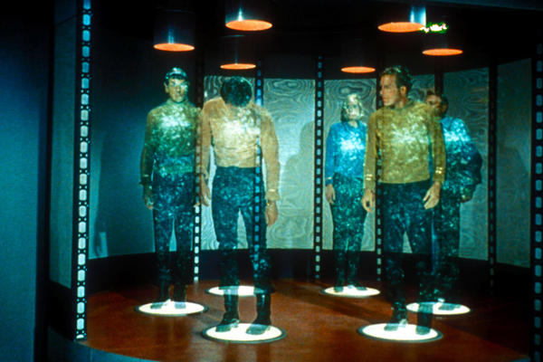 <em>Star Trek's</em> Mr. Spock and Captain Kirk never even lose pocket change when they use a transporter to get from TV's <em>Starship Enterprise t</em>o distant worlds. What gives?