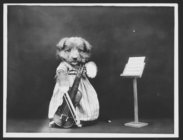 """""""The Fiddler,"""" 1914"""