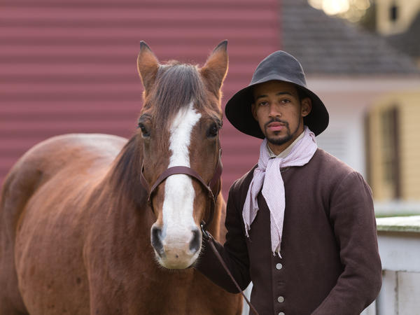 A history actor/interpreter at Colonial Williamsburg in Virginia.