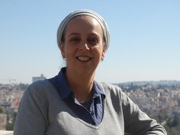 """Leah Aharoni founded an organization to try to keep prayer at the Western Wall unchanged. """"I don't feel insignificant, no matter what prayer practices I adopt,"""" she says."""