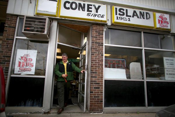 Red Hots has been making Detroit Coneys since 1921.