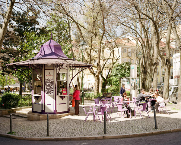 Quiosque da Praça das Flores. The kiosks offer affordable and traditional drinks and snacks, conversation and community – and also employment in a country struggling with the staggering levels of unemployment and recession gripping much of western Europe.