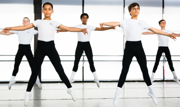 Ballet companies try to be equally made up of men and women, but not enough boys are signing up for ballet classes when they're young.