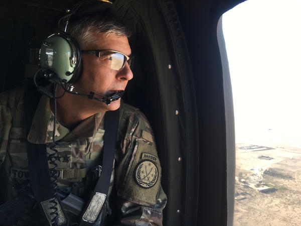 """Our Iraqi and Syrian partners are sacrificing not only for their own countries, but for the region and the rest of the world as well,"" says Lt. Gen. Stephen Townsend, the American commander as U.S. forces help Iraqi troops in Mosul."