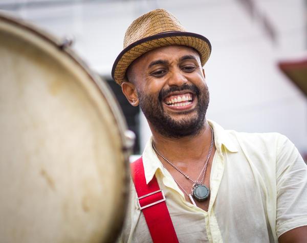 "Plenas are ""very, very Puerto Rican,"" says Emanuel Santana, a singer with the bands <a href=""http://plenalibre.com/"">Plena Libre</a> and <a href=""https://www.facebook.com/vientodeagua"">Viento de Agua</a>."