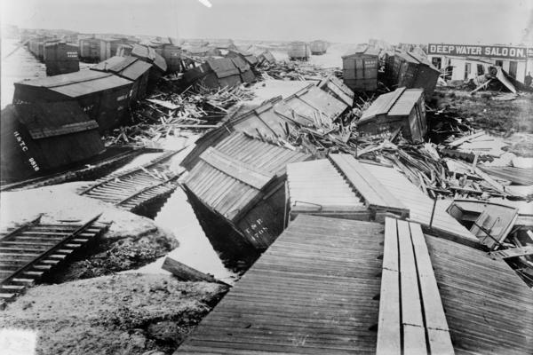At the dawn of the 20th century, Galveston was the grandest city in Texas. After the 1900 storm, it would never regain that status.