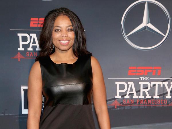 ESPN columnist Jemele Hill attends ESPN The Party on Feb. 5, 2016 in San Francisco.