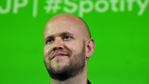 Daniel Ek, CEO of Swedish music streaming service Spotify, in Tokyo in 2016. The company is expected to go public late next month or early April.