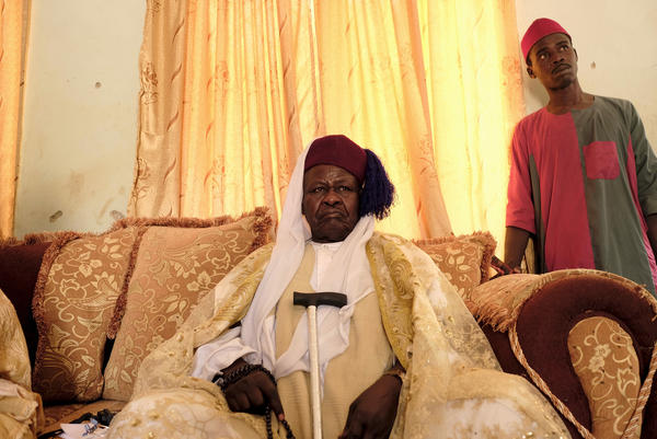 """We are against Boko Haram,"" says Alhaji Kachalla Yoroma, the emir or traditional district head and religious leader in the village of Dapchi. ""Islam means peace. We are living for peace. Abducting children and killing innocent people and burning houses – this is haram [sinful]. What <em>they</em> do is haram."""