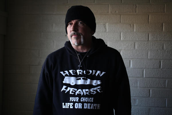 Dwayne Wood estimates he has helped more than 40 addicts into treatment.