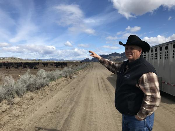 """""""We thought we had somebody on our side and now Zinke pulls this on us,"""" rancher Craig Verasjka says. """"We're not happy."""""""