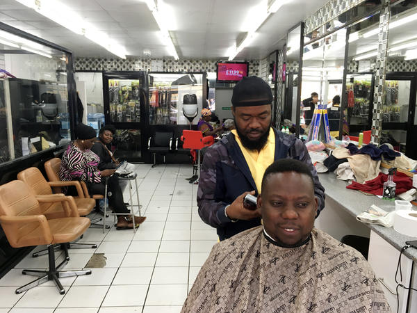 Barber Mike Oke in Peckham, London, is a huge fan of Prince Harry, who's widely regarded as the most approachable of the royals.