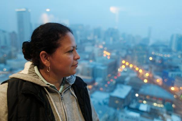 After suffering 10 years of violent abuse at the hands of her husband, Rody Alvarado fled her native Guatemala in 1995 and applied for asylum in the U.S. It took a 14-year battle with federal officials over whether domestic violence qualifies for refugee status for Alvarado's application to be granted, in 2009.