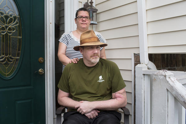 George Wilmot gets lost easily, forgets things — like a pot on the stove — and sometimes falls down without warning. His wife, Jenn, hasn't been able to work outside the home because taking care of George is a full-time job.