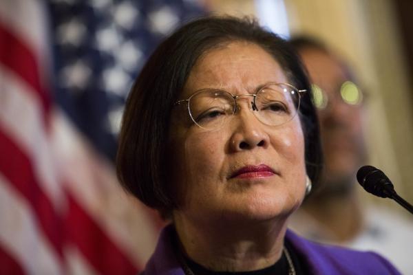 Democratic Sen. Mazie Hirono may have a quiet demeanor, but that shouldn't be confused for a lack of toughness.