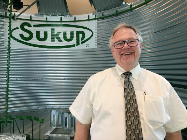 Charles Sukup is the president of Sukup Manufacturing, which makes grain-storage equipment in Sheffield, Iowa.