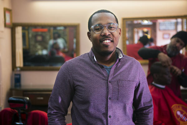 Alvin Irby, founder of Barbershop Books, is on a mission to get kids reading in the barbershop.