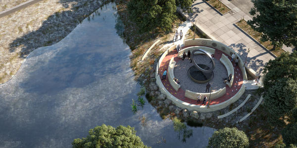 The National Museum of the American Indian announced its winning design for the National Native American Veterans Memorial.